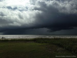 Storm Clouds Over the State of Louisiana by Lindsay Attaway via flickr